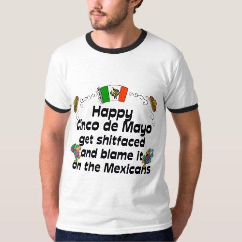 Funny  Cinco de Mayo T_Shirt