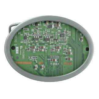 Funny circuit board belt buckle