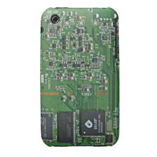 Funny circuit board Case-Mate iPhone 3 cases