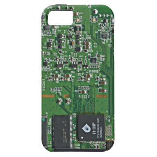 Funny circuit board iPhone 5 cover