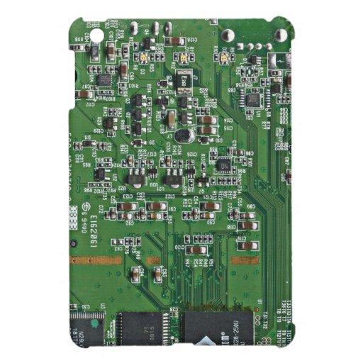 Funny circuit board iPad mini cases