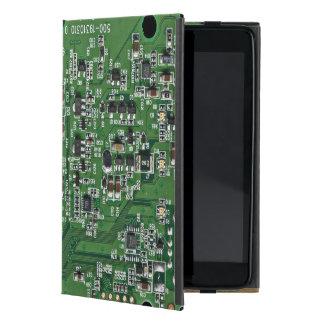 Funny circuit board iPad mini cover
