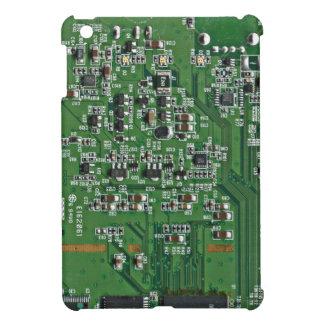 Funny circuit board iPad mini covers