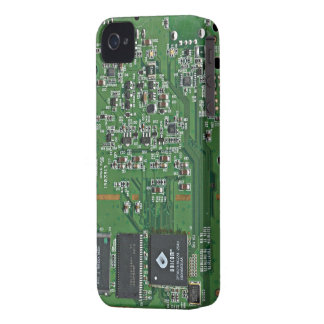 Funny circuit board iPhone 4 Case-Mate case