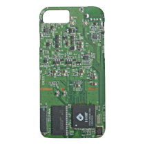 Funny circuit board iPhone 7 case