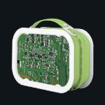 """Funny circuit board lunch box<br><div class=""""desc""""></div>"""