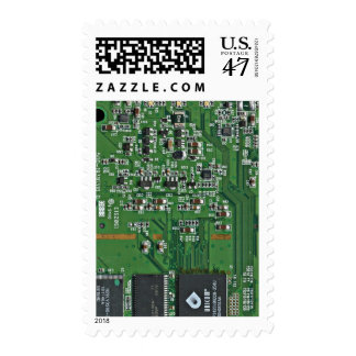 Funny circuit board postage