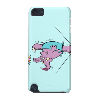 funny circus elephant on tightrope iPod touch (5th generation) covers