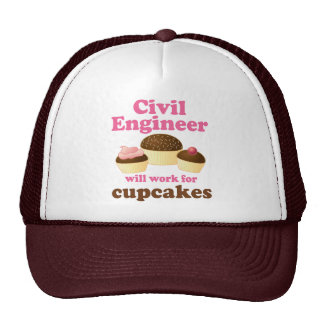 Funny Civil Engineer Trucker Hat