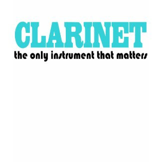 Funny Clarinet Kids T-shirt shirt