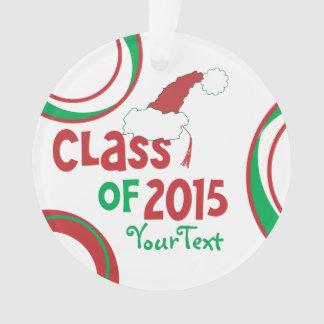 Funny Class of 2015 Santa Hat Graduation Tassel