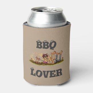 Funny Clip Art BBQ LOVER
