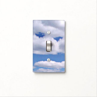 Funny Cloud Light Switch Cover