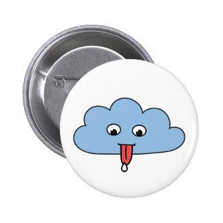Funny Cloud Pinback Button