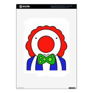 Funny Clown iPad 3 Skin