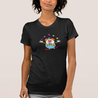 Funny Clown Juggling Womens T-Shirt