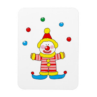 Funny clown magnet