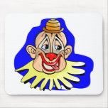 Funny Clown Mouse Pad