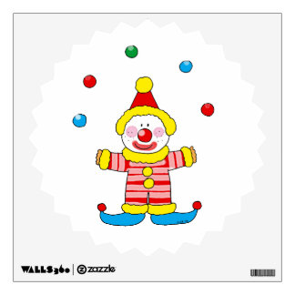 Funny clown room graphic