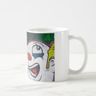 Funny Clown With White Face Coffee Mug