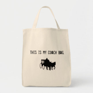 Funny Coach Bag! Sure to Impress! Tote Bag