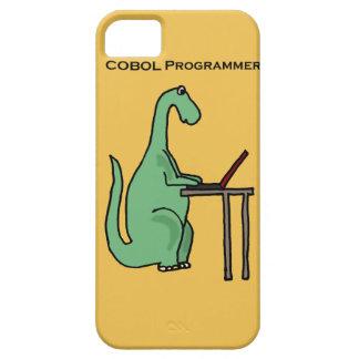 Funny COBOL Programmer Dinosaur iPhone 5 Cover