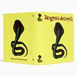 Funny cobra binder design
