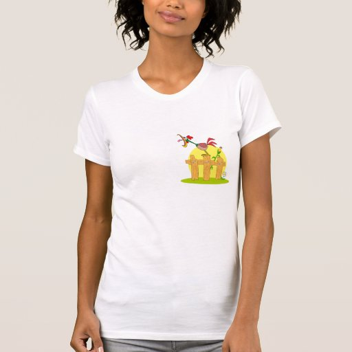 funny cock a doodle doo rostering crowing t shirt