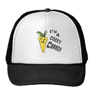 funny cocky carrot  is amazing peace  of ar work trucker hat