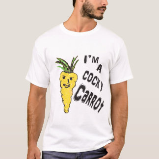 funny cocky carrot  is amazing peace  of ar work T-Shirt