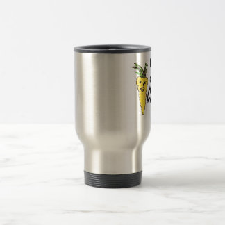 funny cocky carrot  is amazing peace  of ar work travel mug