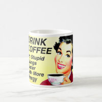 FUNNY COFFEE MUG,VINTAGE COFFEE MUG
