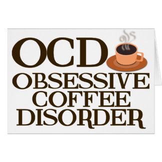 Funny Coffee Addict Card