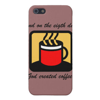 funny coffee cover for iPhone SE/5/5s