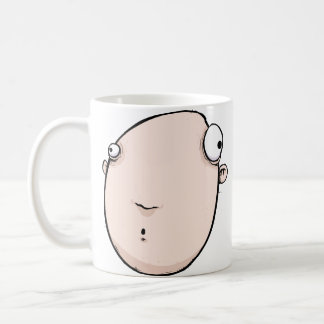 Funny Coffee Cup Gift - Ooooh! Surprised Character