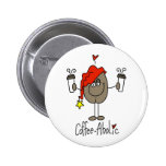 Funny Coffee Lover Gift Buttons