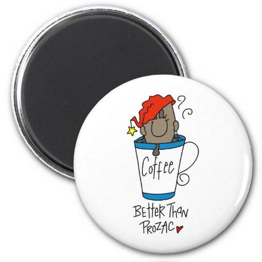 Funny Coffee Lover Gift Fridge Magnet
