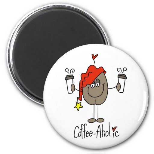 Funny Coffee Lover Gift Magnets