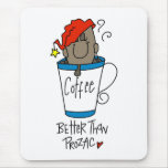 Funny Coffee Lover Gift Mouse Pad