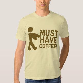 Funny Coffee Lover Tee Shirt