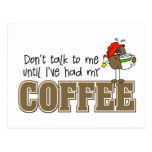 Funny Coffee Lovers Gift Postcards