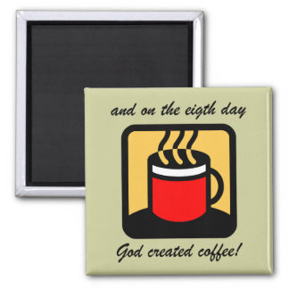 Funny coffee magnets