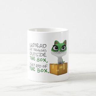 Funny Coffee Mug -CUTESY CAT