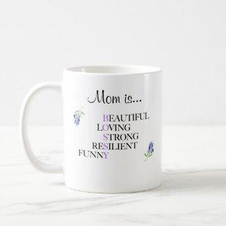 Funny Coffee Mug - Mom is Bossy