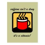 Funny coffee postcards