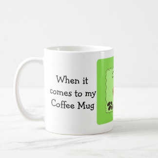 Funny Coffee Saying Size Does Matter Coffee Mug