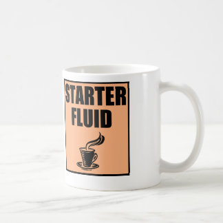 Funny Coffee Starter Fluid Coffee Mug