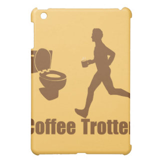 Funny Coffee Trotter Case For The iPad Mini