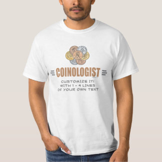 Funny Coin Collecting T-Shirt