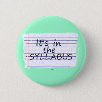 Funny College Professor Button